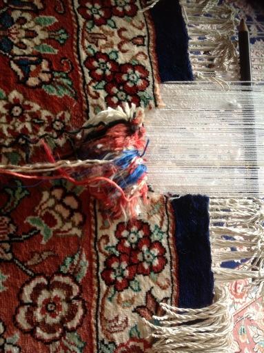 Silk Rug Repair