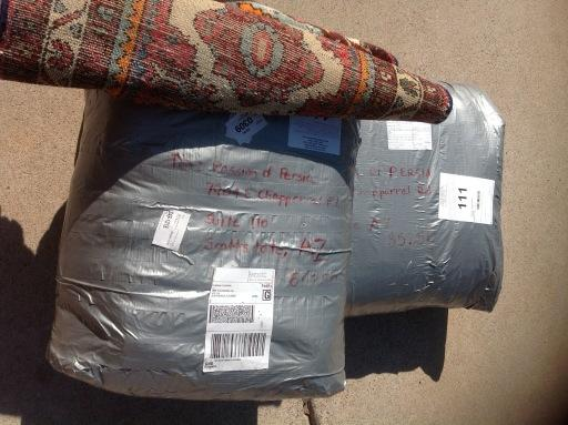 Rugs for Shipping