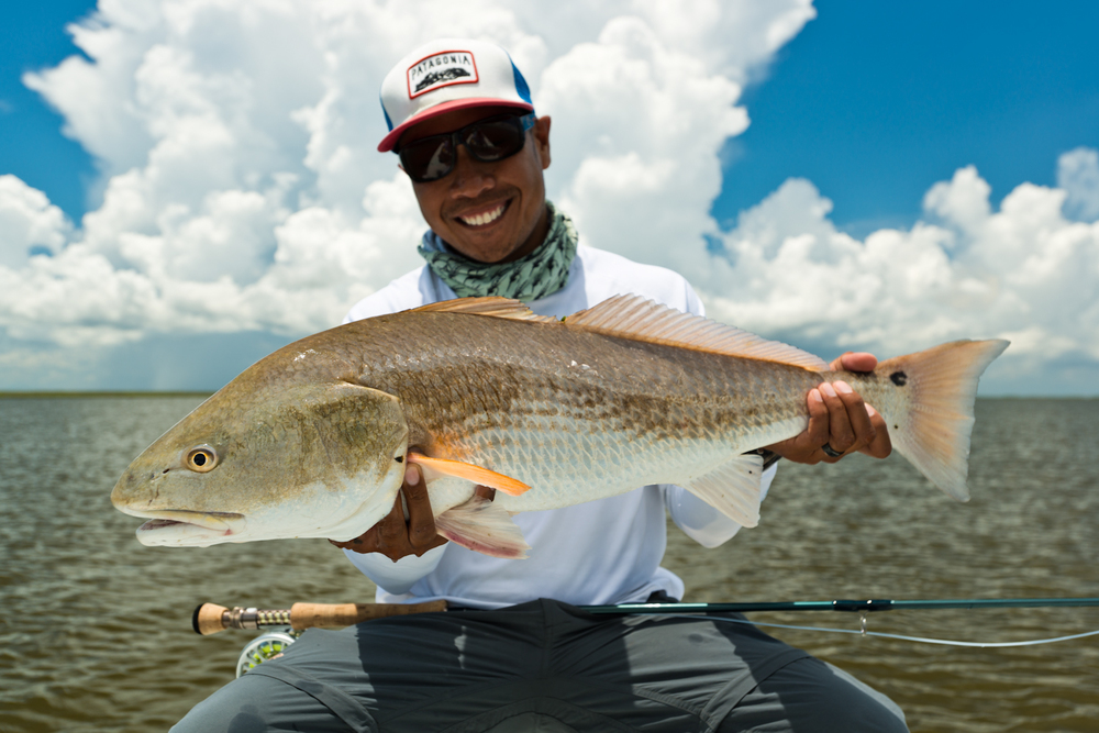 Southern fly expeditions fly fishing spring summer for Louisiana redfish fly fishing