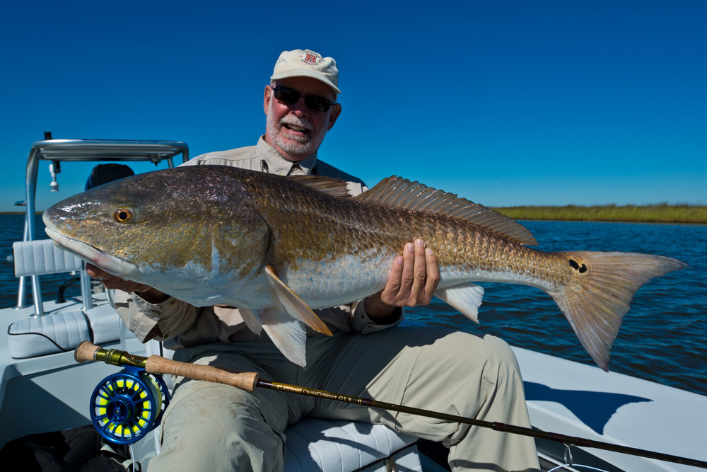 Fly Fishing for Redfish October 2014 with Southern Fly Expeditions of New Orleans