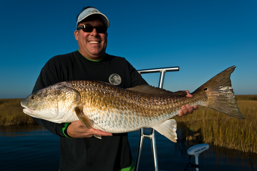 Fly Fishing for Redfish in the Louisiana Marsh with Southern Fly Expeditions of New Orleans