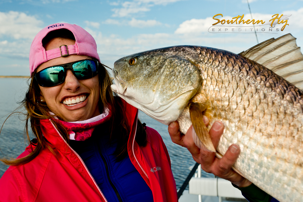 Redfish Photos with Southern Fly Expeditions of New Orleans