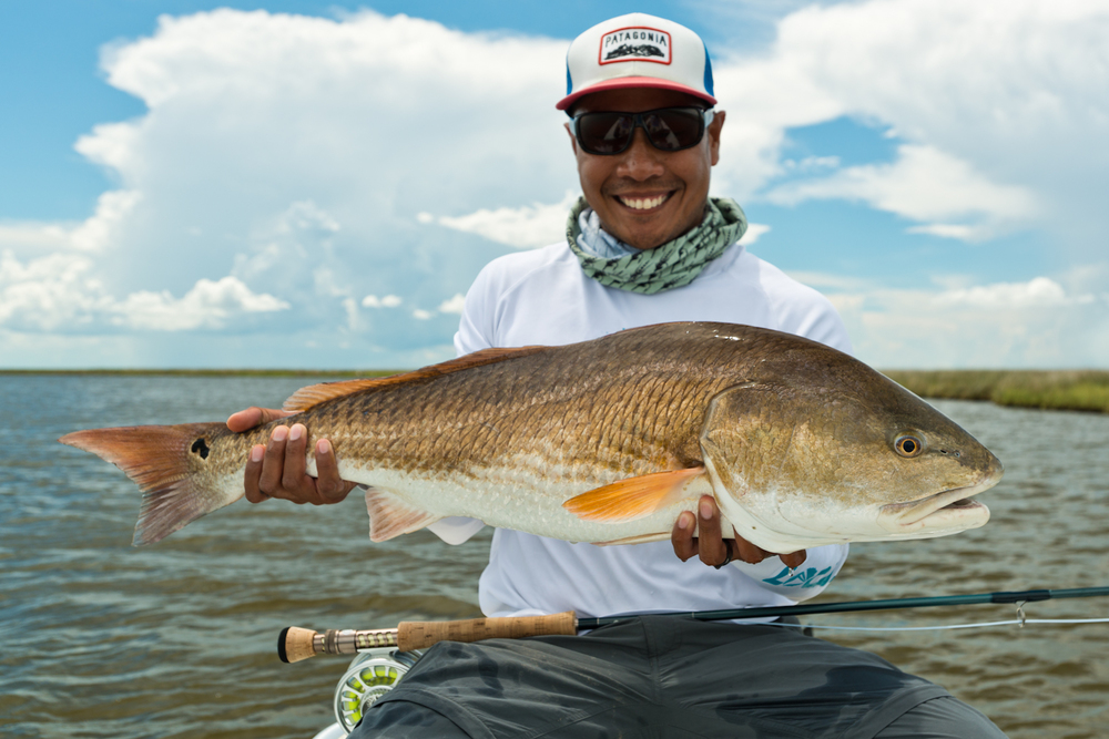 Fly Fishing For Redfish Photos June 2015