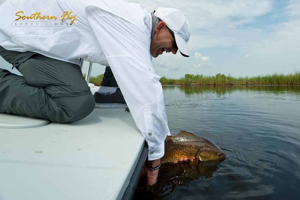 Release Photo Fly Fishing Trip June 2015 with Southern Fly Expeditions