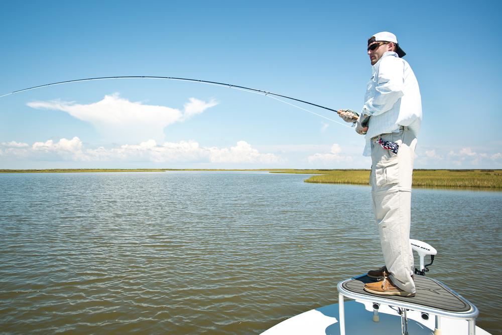 Catch and Release Fly Fishing Guide Southern Fly Expeditions Louisiana