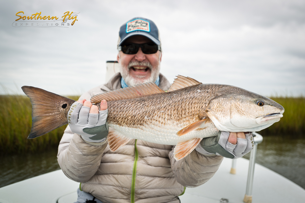Million Dollar Smile Fly Fishing for Red Drums