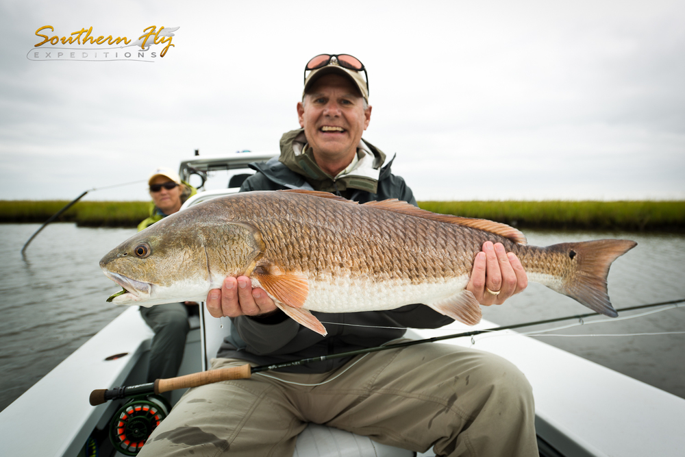 Skiff Fly Fishing for Red Drum
