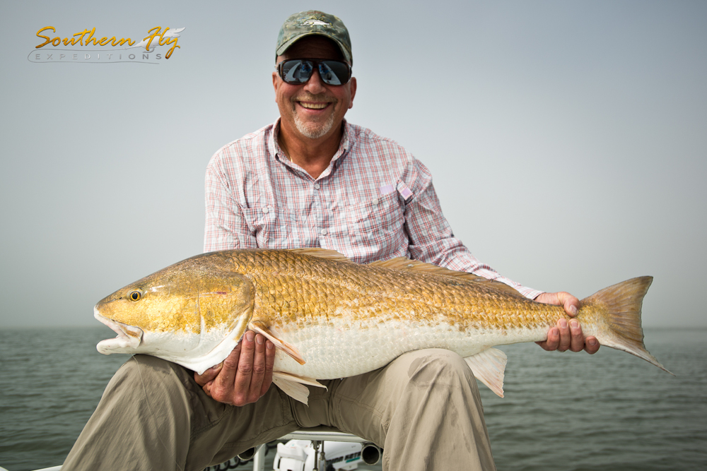 Fly Fishing Red Fish Louisiana