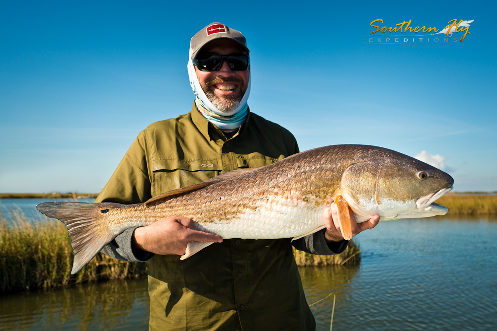Boloxi Marsh Yields Action in Fly Fishing