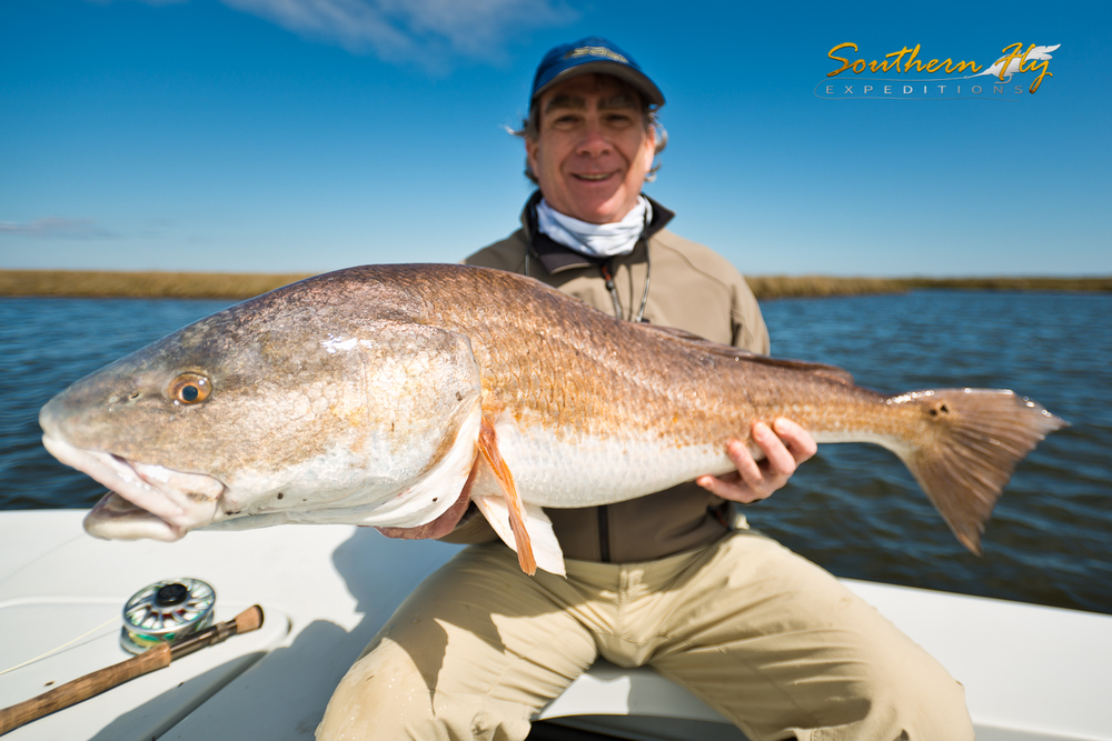 Best Redfish Fly Fishing Trip Louisana