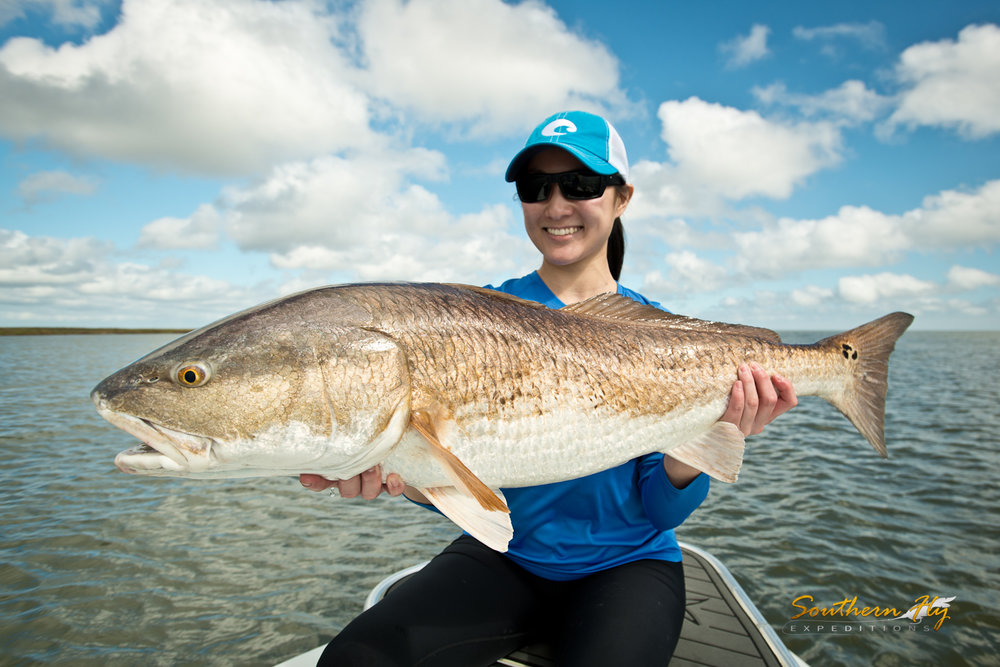 women fly fishing trips new orleans Louisiana - Louisiana fishing Southern Fly Expeditions