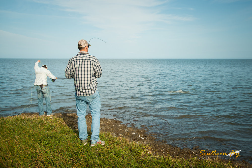 Texas Anglers Fly Fishing New Orleans