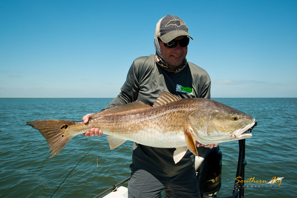 best fly fishing guide for red fish in louisiana Southern Fly Expeditions