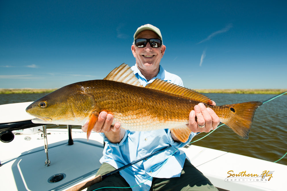 California Anglers Fly Fish New Orleans - Southern Fly Expeditions