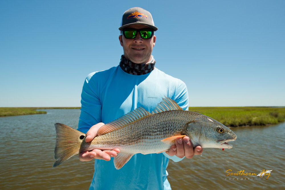 Alaska Anglers Fly Fish New Orleans