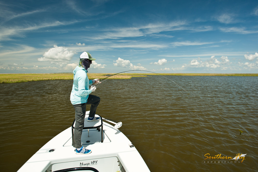 Michigan Anglers Fly Fishing New Orleans Southern Fly Expeditions