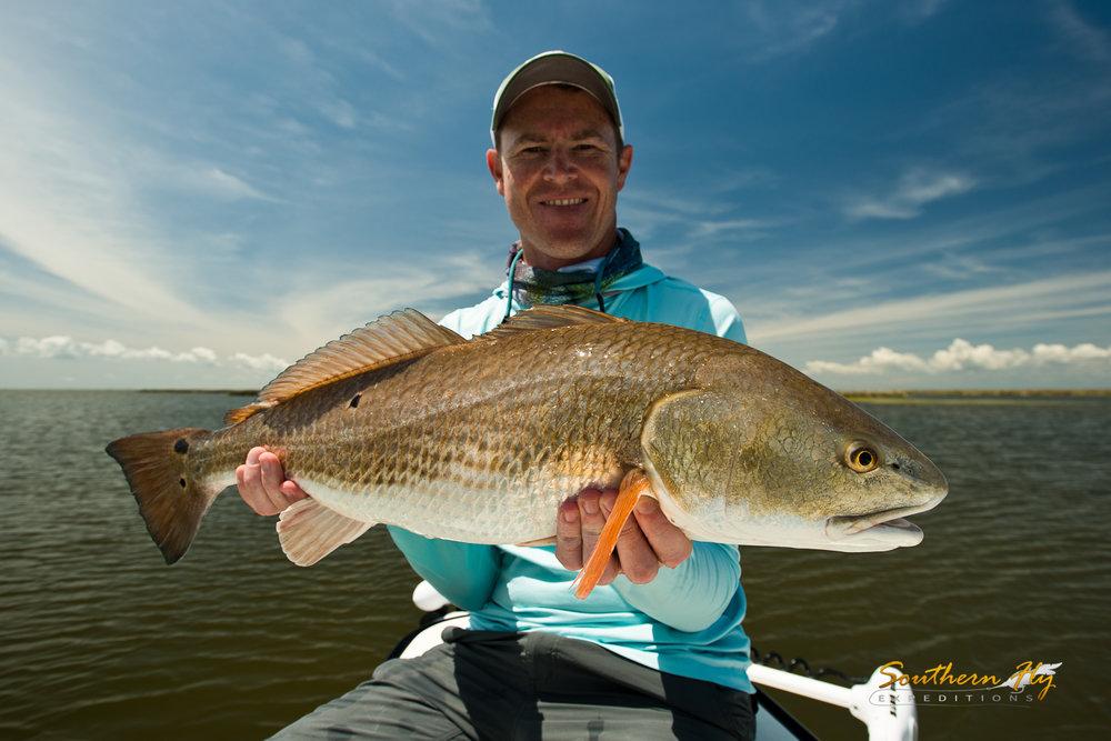 Nebraska Anglers Fly Fishing New Orleans