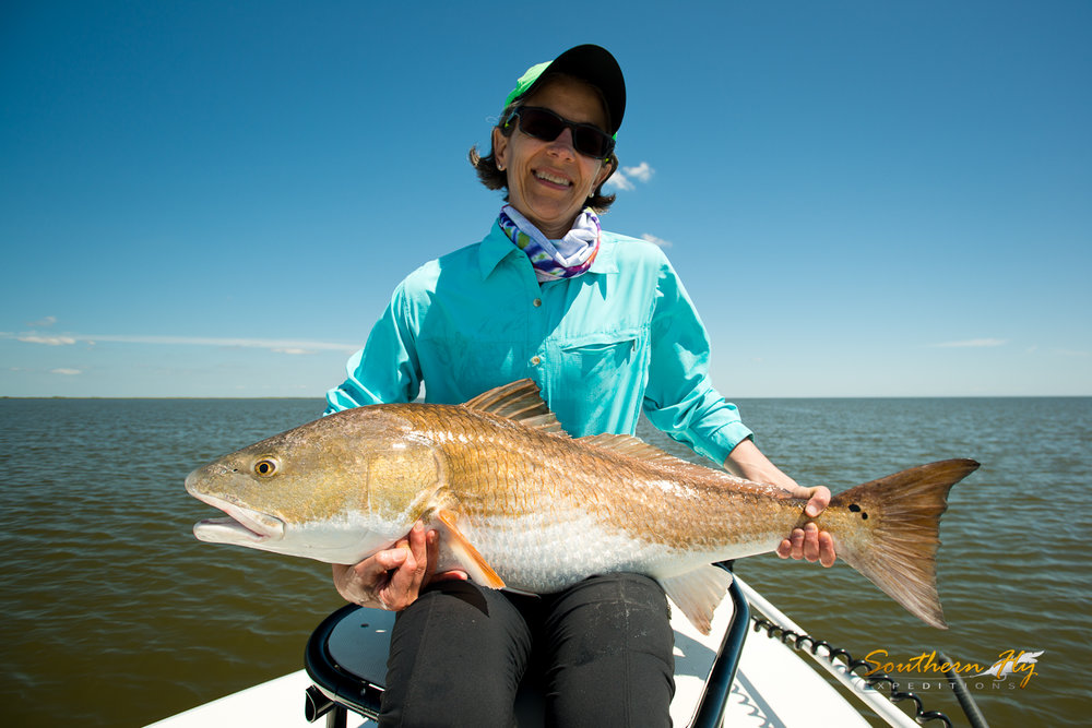 Best Women's Fly Fishing Guide New Orleans