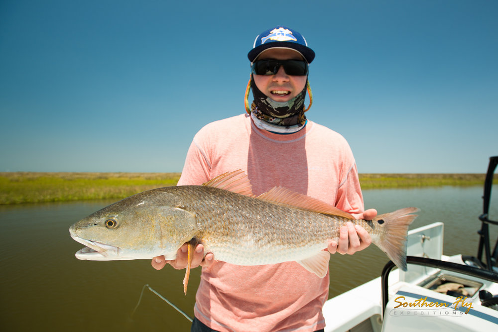 North Carolina Anglers Fly Fishing New Orleans