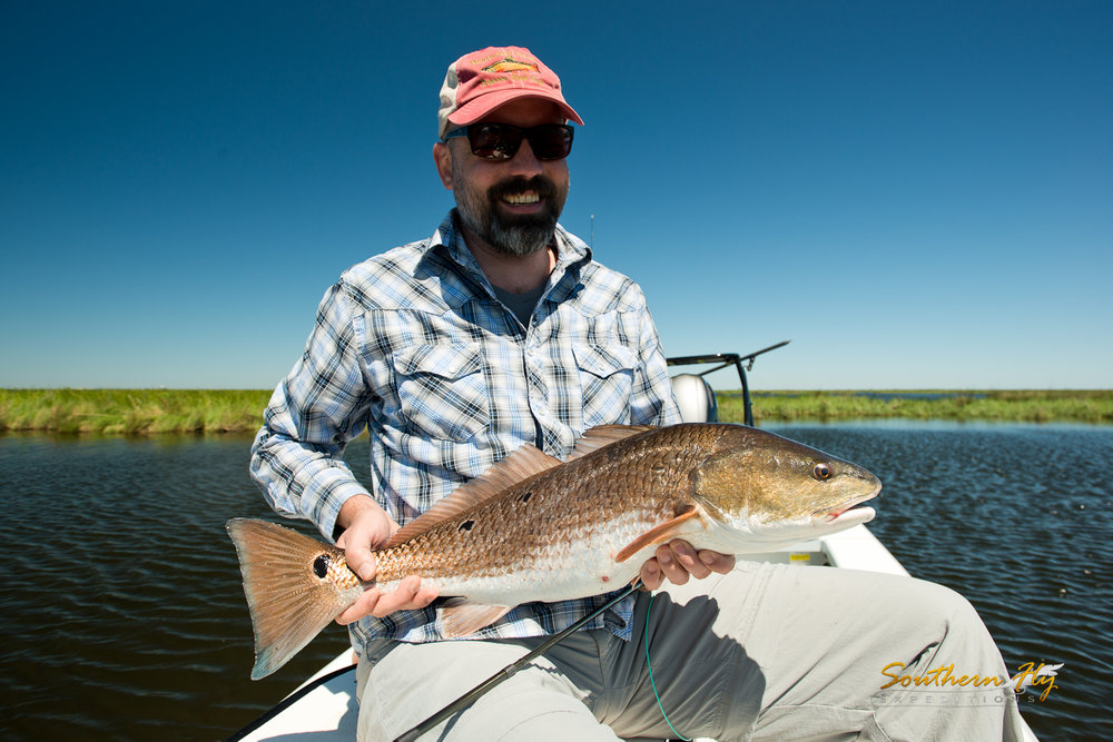 Best Louisiana Spot Fly Fishing Red Fish