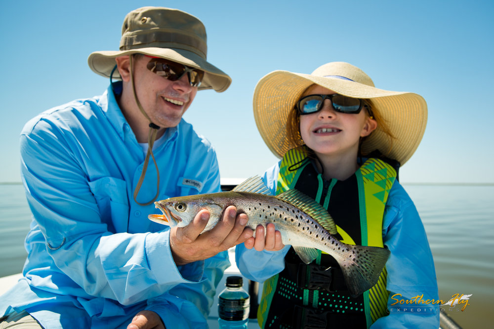 Couple Fly Fishing Weekend Trips