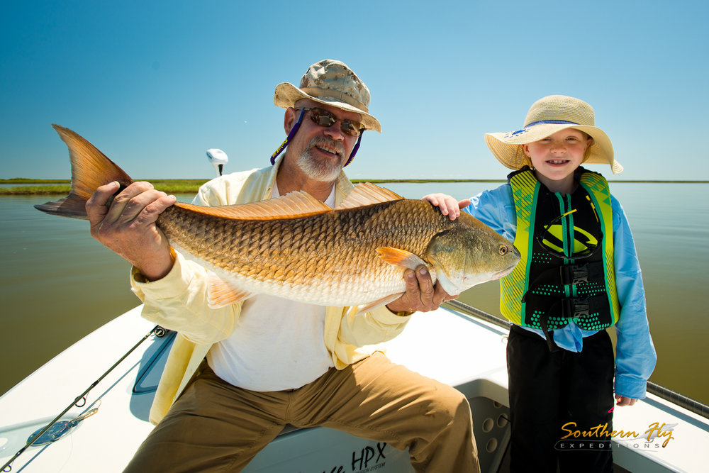Grandparents Take Grandkids Fly Fishing New Orleans