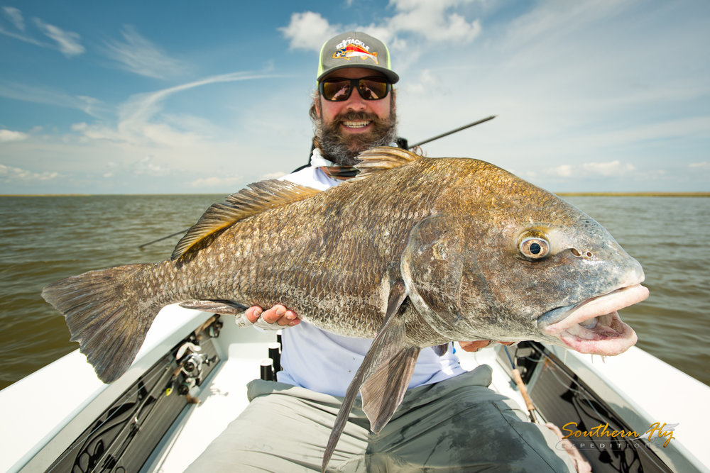 Catching Record Sized Reds in New Orleans - Southern Fly Expeditions