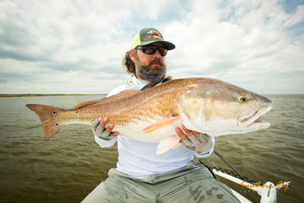 Fly Fishing Redfish New Orleans with Southern Fly Expeditions