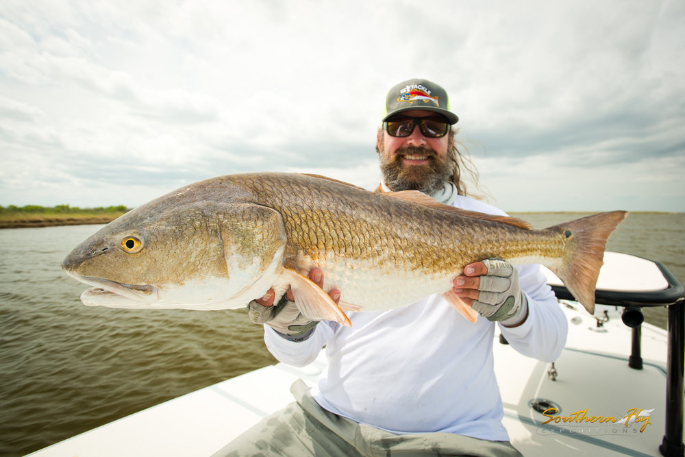 Catch & Release Sport Fishing New Orleans With Captain Brandon Keck and Southern Fly Expeditions