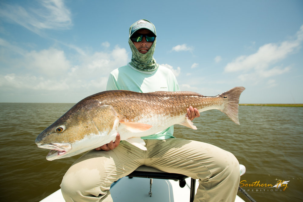 Fly Fishing Guide Captain Brandon Keck New Orleans