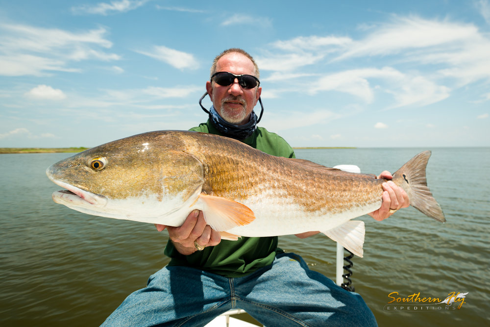Montana Anglers Fly Cast for Redfish in New Orleans