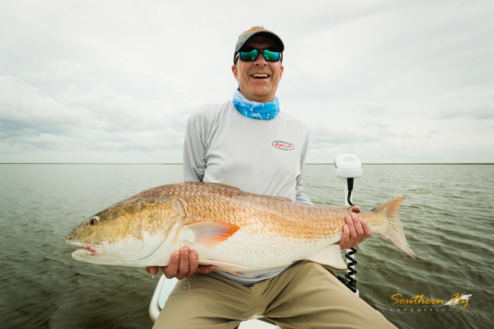 Low Tide Fly Fishing New Orleans Redfish Fly Casting Guide