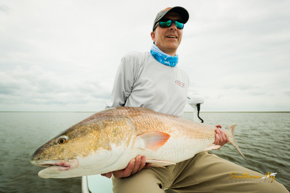 Monster Reds Fly Fishing New Orleans Best Fly Fishing Guide
