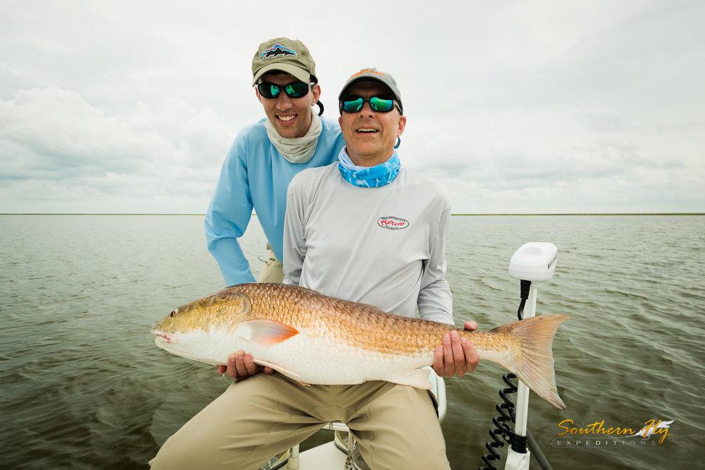 Light Tackle Fly Fishing Guide New Orleans Red Drum Black Drum Alligator Gar Jack Crevalle