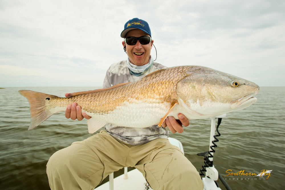 Weekend Fly Fishing Trip with Captain Brandon Keck New Orleans