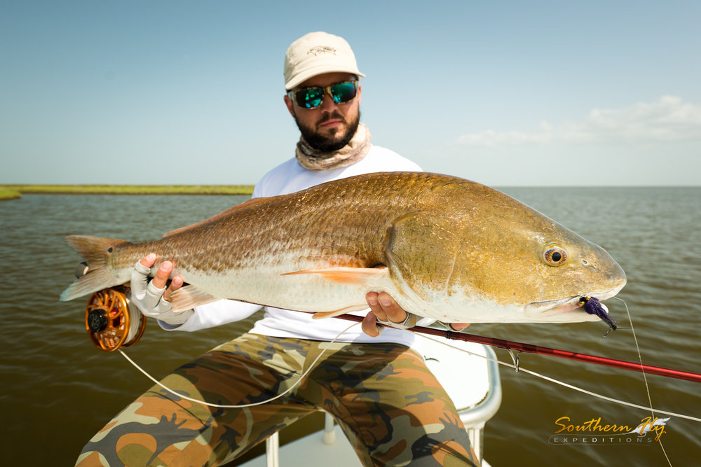 Fishing New Orleans with Southern Fly Expeditions - Best in Venice, Shell Beach and More of Louisiana