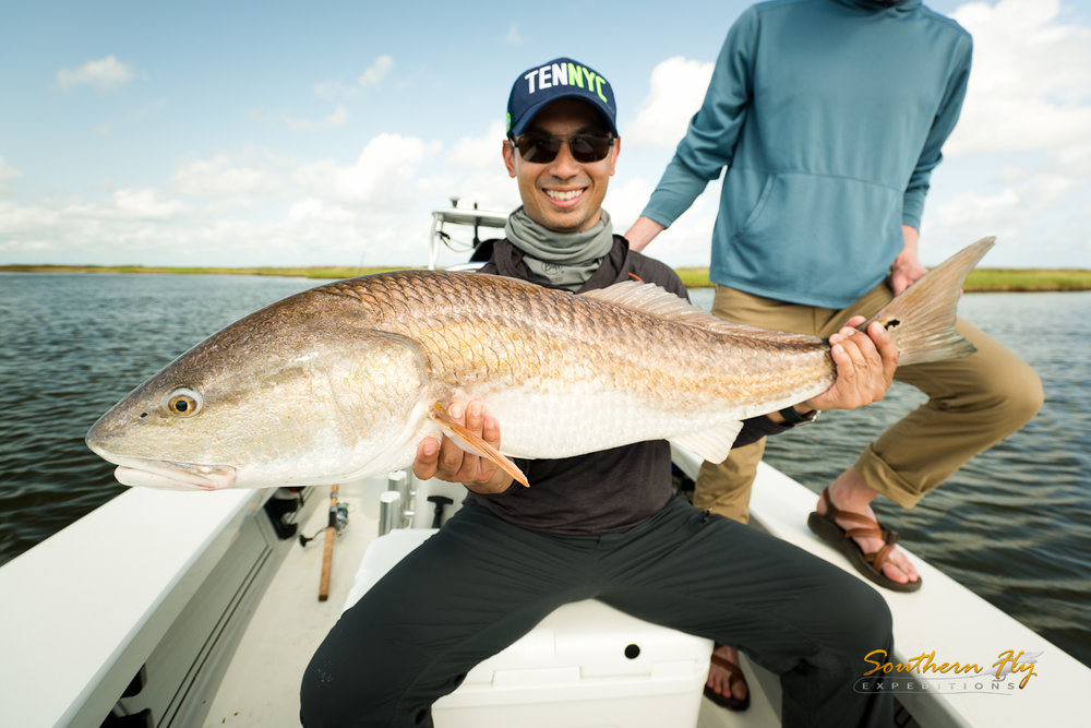 Best fishing in new orleans with southern fly expeditions and captain brandon keck
