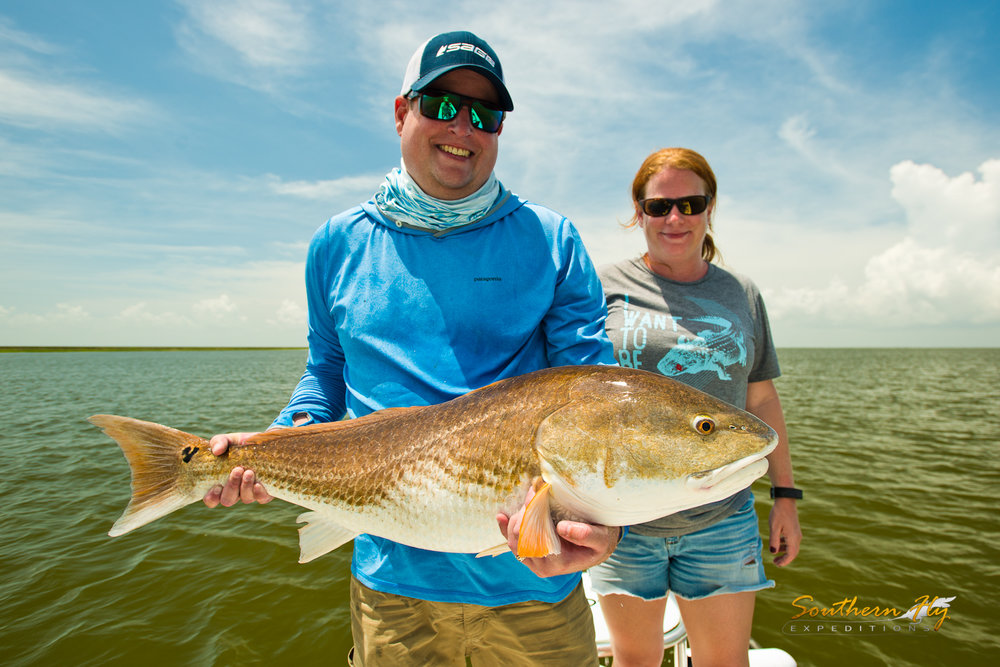 fly fishing new orleans with Southern Fly Expeditions