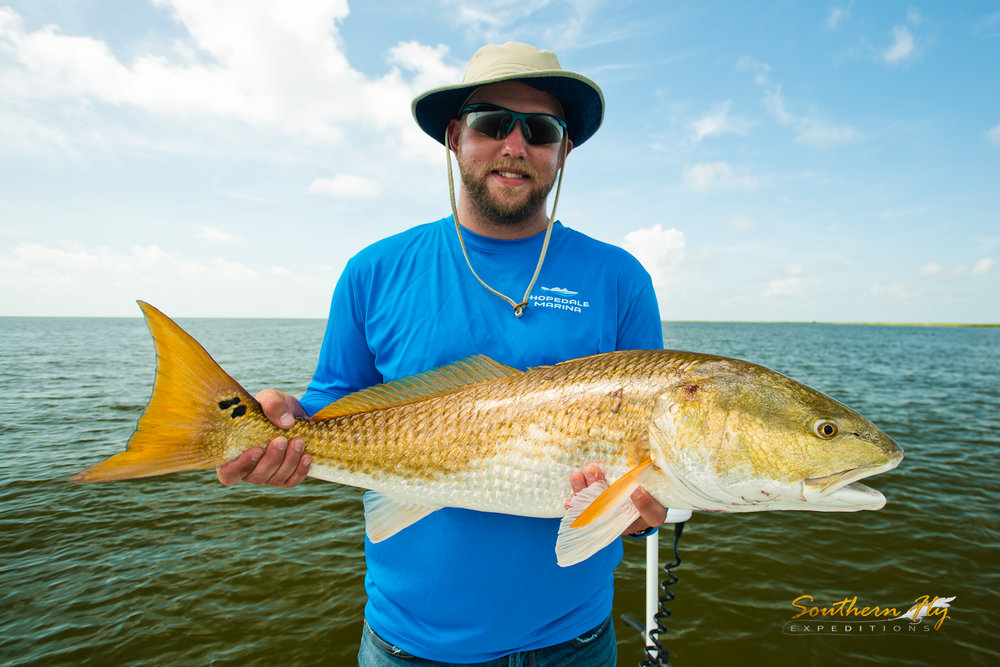 Southern Fly Expeditions fly fishing new orleans port sulphur and more for redfish