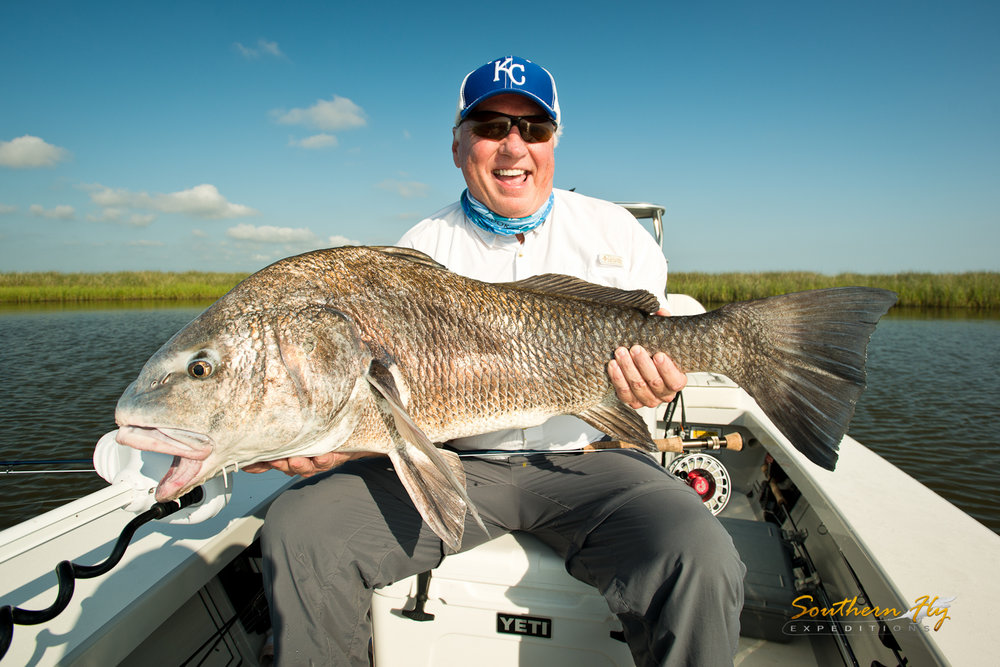Southern Fly Expeditions fly fishing Louisiana