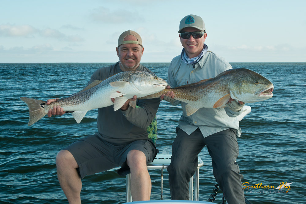 Fly Fishing New Orleans for Redfish with Southern Fly Expeditions