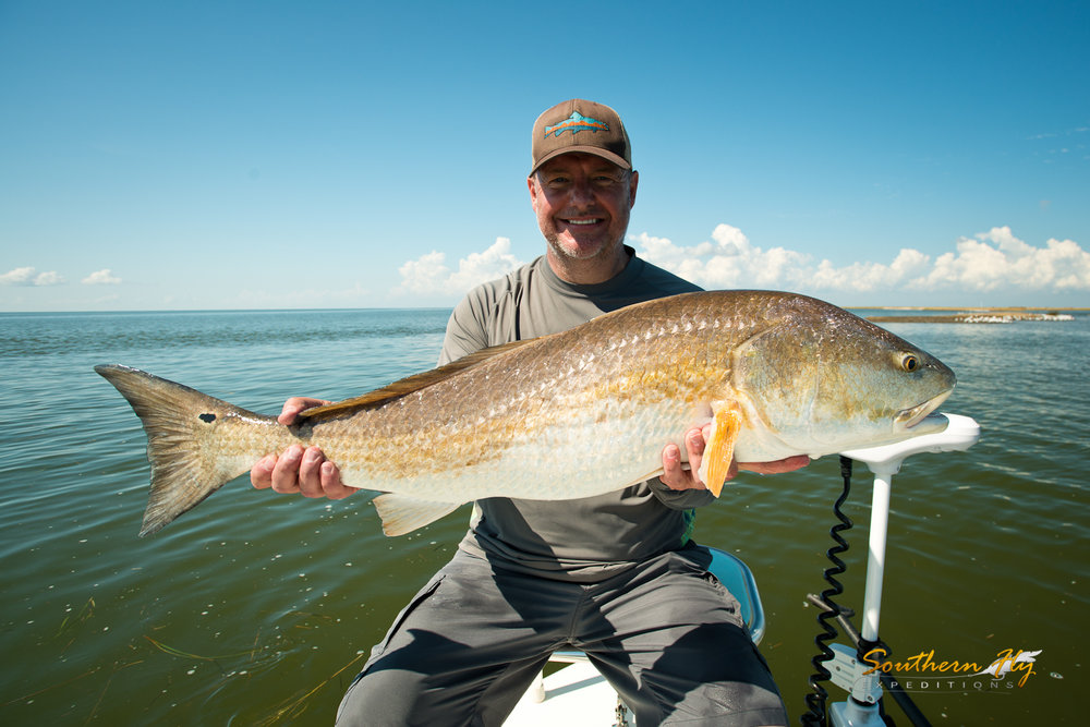 new orleans louisiana fishing charter guide Southern Fly Expeditions