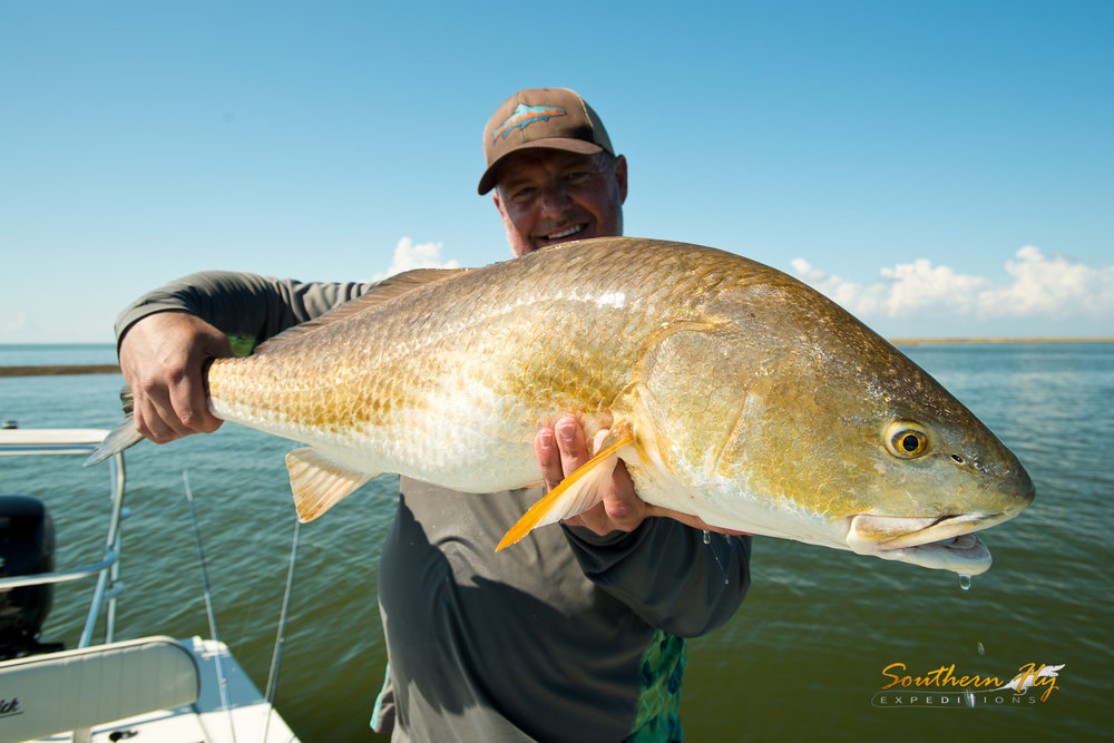 charter fishing guide new orleans la with capt. brandon keck and Southern Fly Expeditions