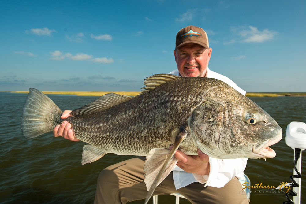 fly fishing charter guide Southeastern Louisiana - Southern Fly Expeditions