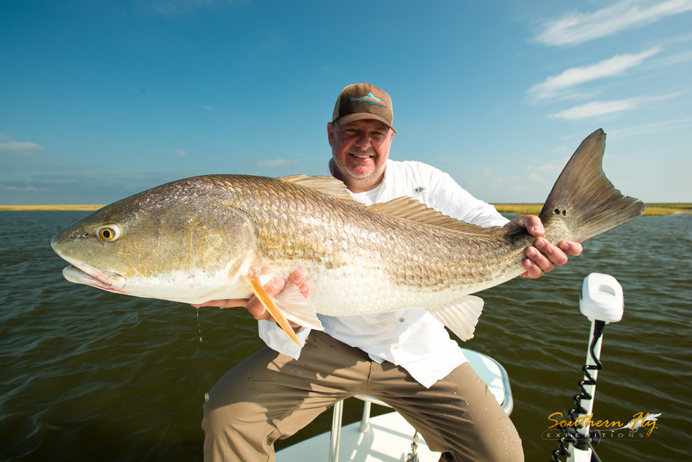 charter redfish guides new orleans louisiana sulphur