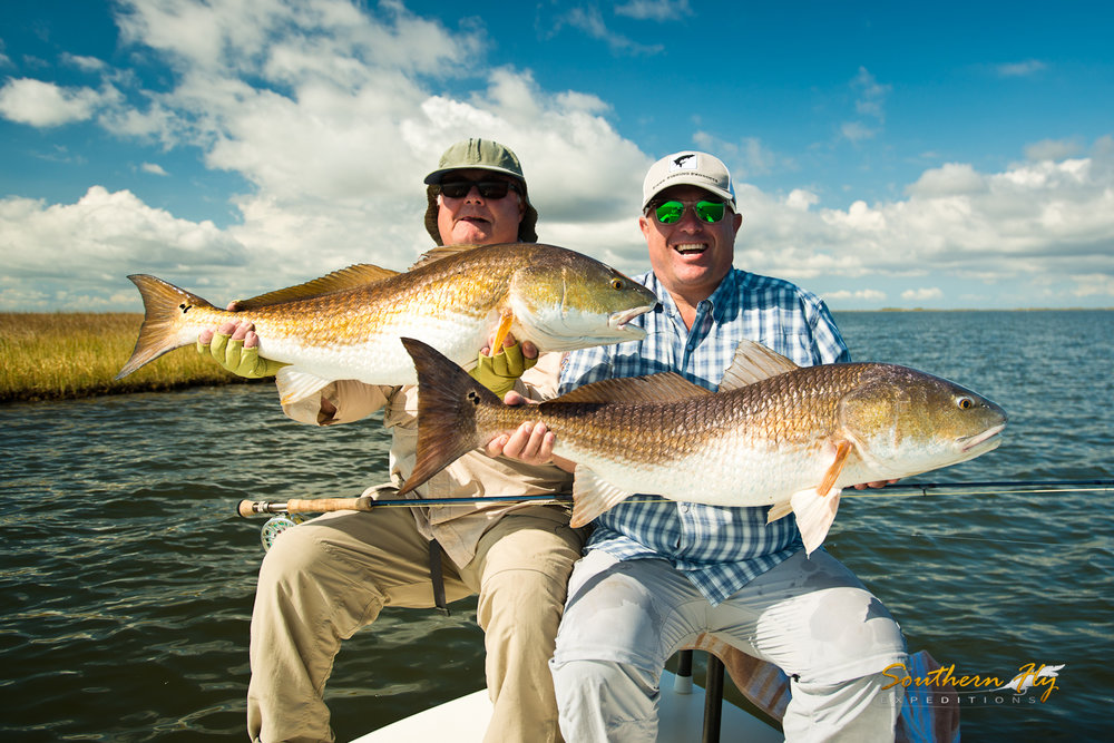 Red Drum Sight Fishing Guide Brandon Keck Southern Fly Expeditions