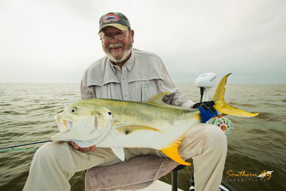 Jack Crevalle Fly Fishing Delecroix la Southern Fly Expeditions