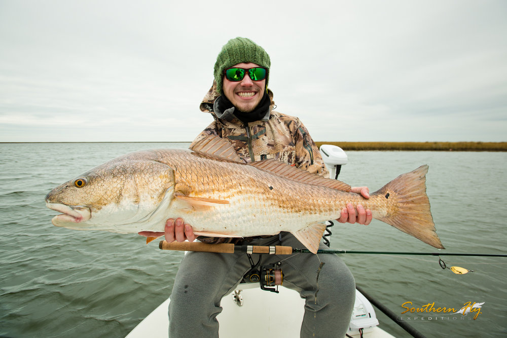February Fly Fishing New Orleans Marsh Waters Southern Fly Expeditions