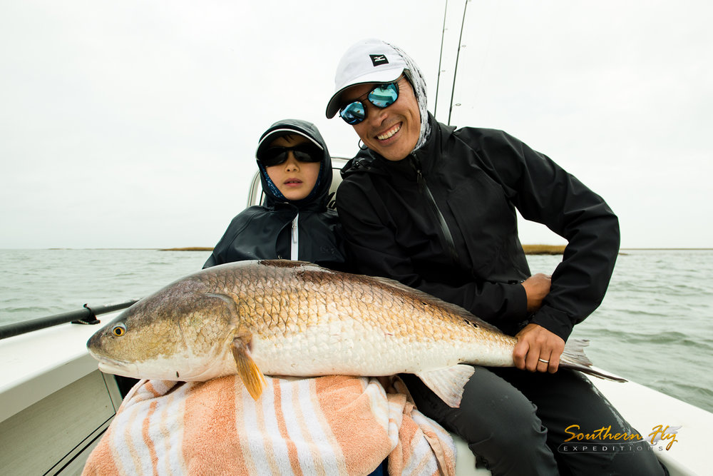 Family Spin Fishing Vacation New Orleans with Southern Fly Expeditions