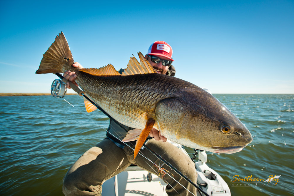 Louisiana Fly Fishing with Southern Fly Expeditions and Cpatain Brandon Keck